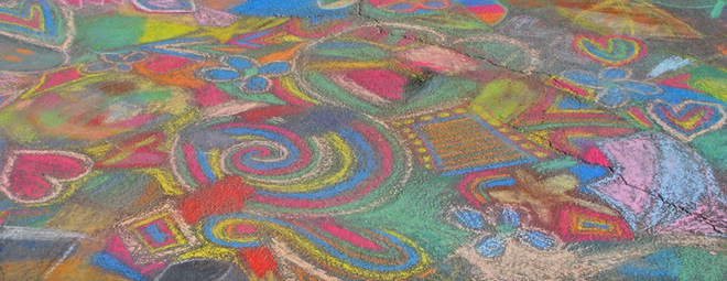 Chalk Drawing Tips Drawing On Earth Chalk Drawing