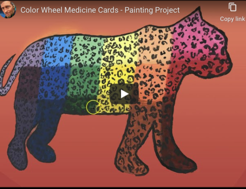 COLOR WHEEL MEDICINE CARDS
